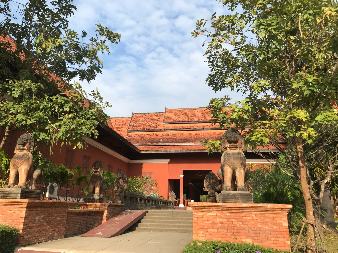 Angkor National Museum-Cambodian Cultural Village