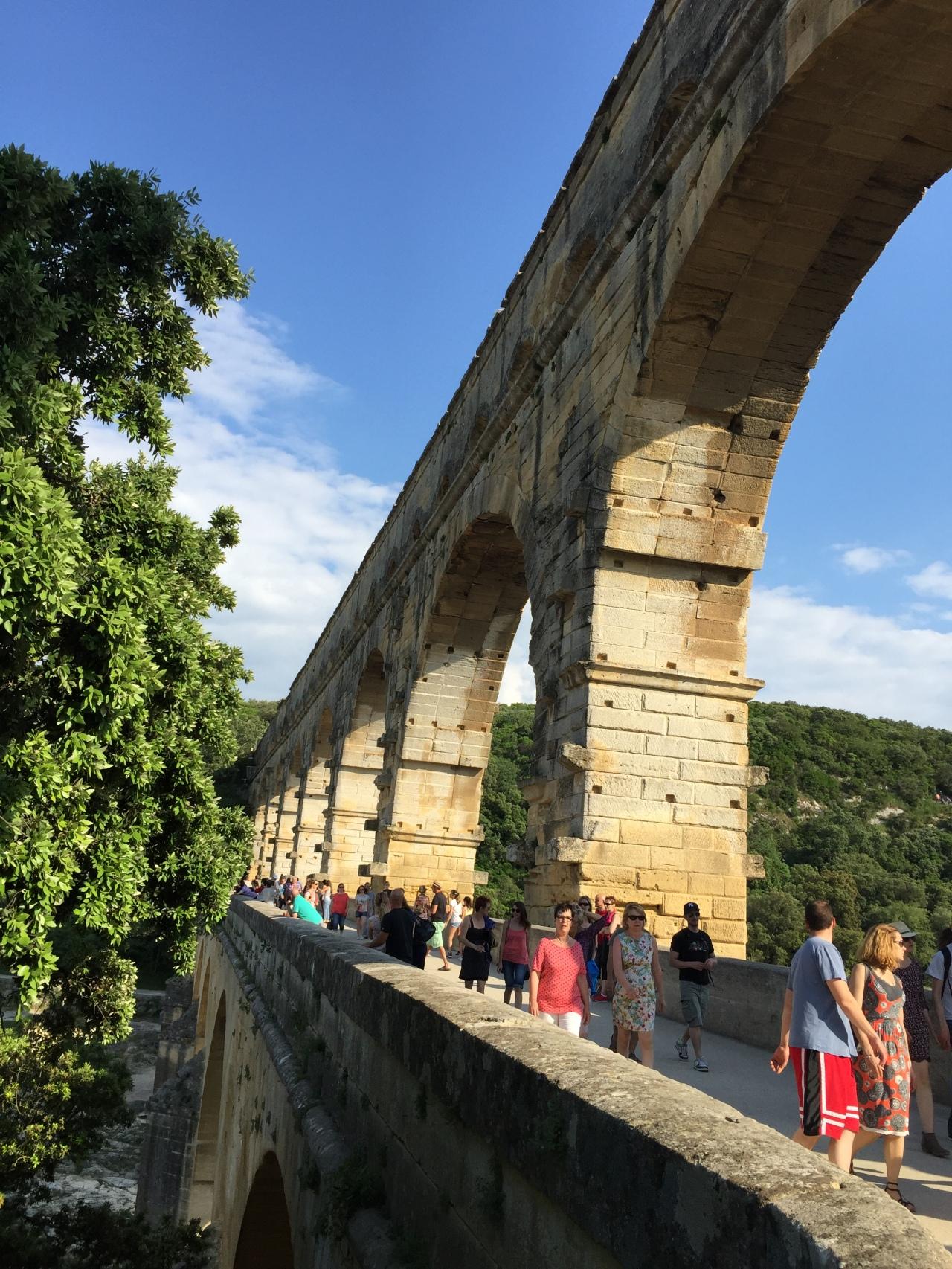 Pont du Gard-Orange-Chateauneuf DuPape